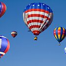Up,Up and away by Wanda Faircloth