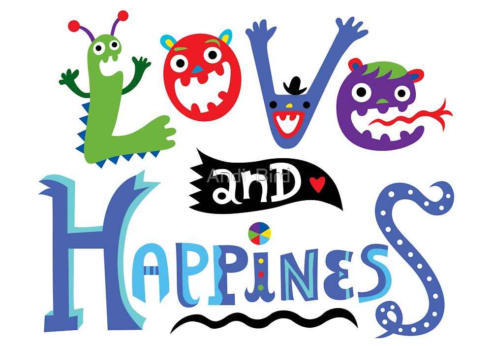 Love & Happiness by Andi Bird