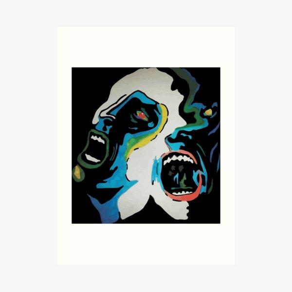 Framed Original Art Def Leppard Poster Album Print Lyrics Gift Hysteria