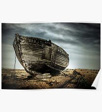 Derelict and Desolate in Dungeness Poster