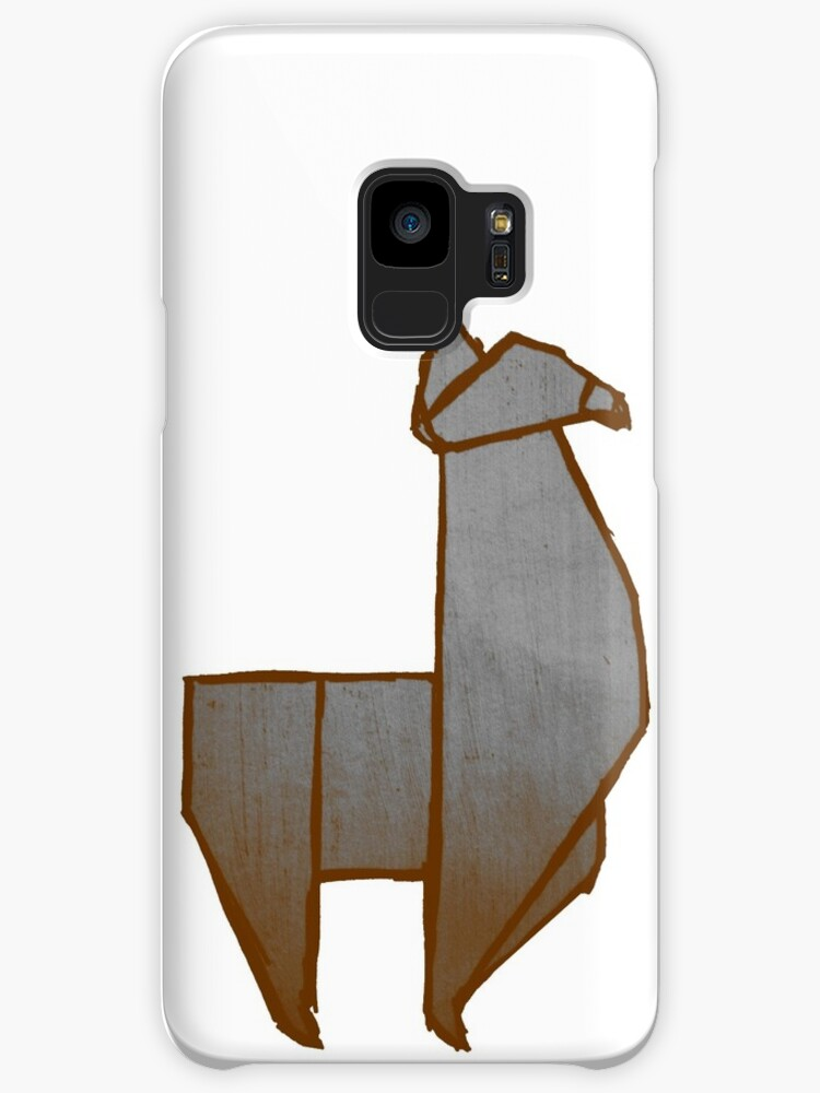 Origami Llama Cases Skins For Samsung Galaxy By The Acorn Redbubble