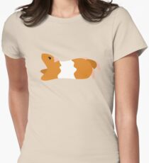 Teddy Bear Hamster Fitted T-Shirt
