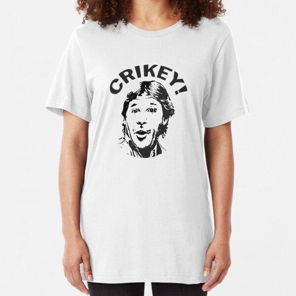 Best Seller Steve Irwin Crikey Merchandise Slim Fit T-Shirt Unisex Tshirt