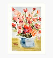 Red Poppies for Belinda Art Print