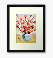 Red Poppies for Belinda Framed Print
