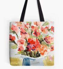 Red Poppies for Belinda Tote Bag