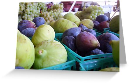 Figs & Grapes by Kimberly Morales