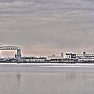 duluth lift bridge by Evan Johnson