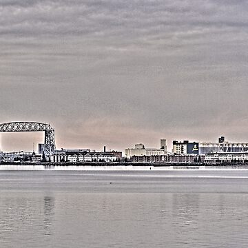 duluth lift bridge by evanj11