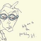 Shell Blue Specs- help me to the parking lot. by Jaelah