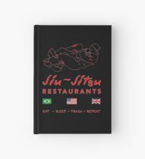 Jiu-Jitsu restaurant Hardcover Journal