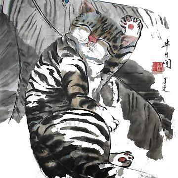 a touch of zen no.5 by zhenlian