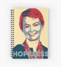 Labour Leadership Hopeless Yvette Spiral Notebook