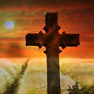 Jesus langweilt unsere Sünden am Kreuz von Marie Sharp
