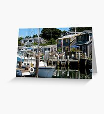 Life In Menemsha Greeting Card