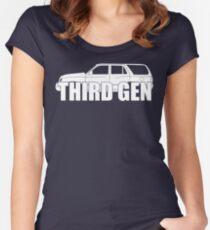 Third Gen  Women's Fitted Scoop T-Shirt