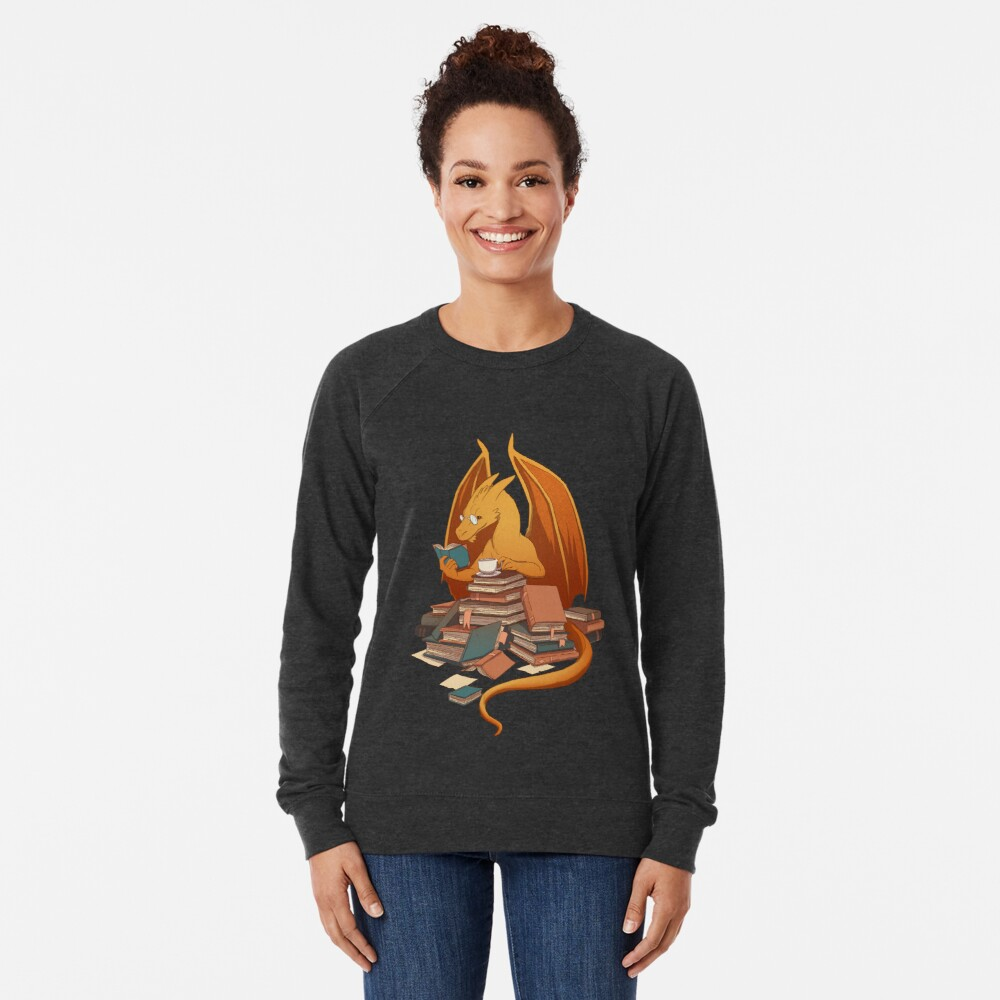 The Librarian's Horde Lightweight Sweatshirt