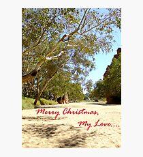 Australian Christmas Card Photographic Print