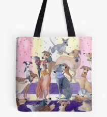 Who Let The Pups Out? Tote Bag