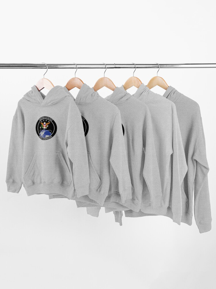 Alternate view of United States Space Command Kids Pullover Hoodie