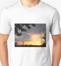 Watercolor Sunset Unisex T-Shirt