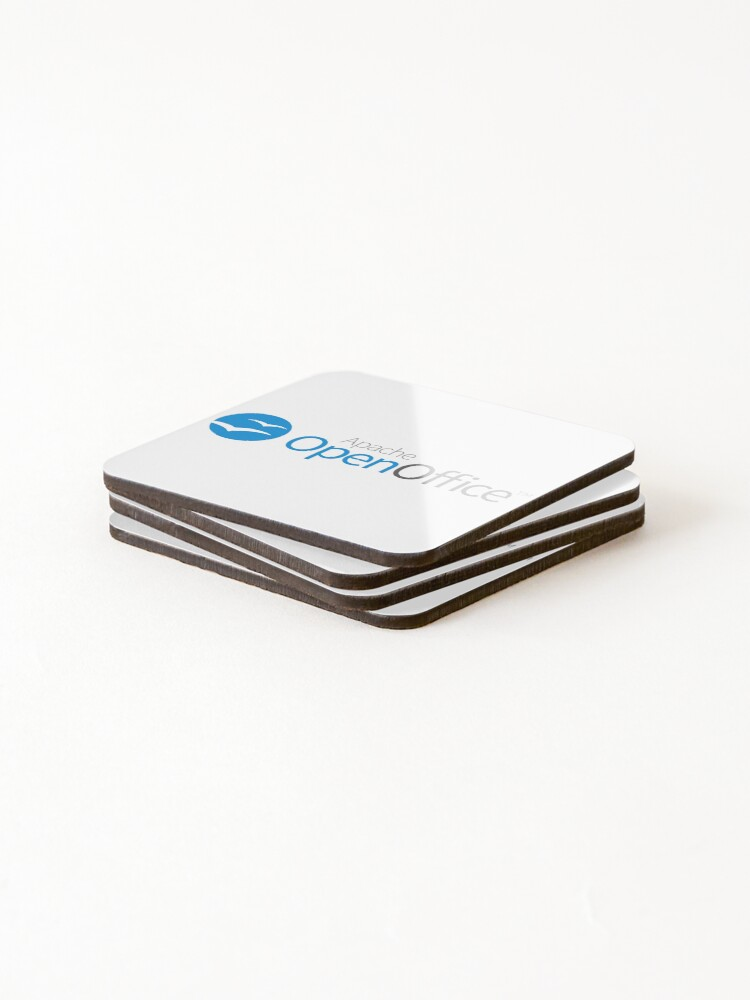 Alternate view of Apache OpenOffice Coasters (Set of 4)