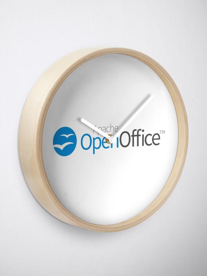 Alternate view of Apache OpenOffice Clock