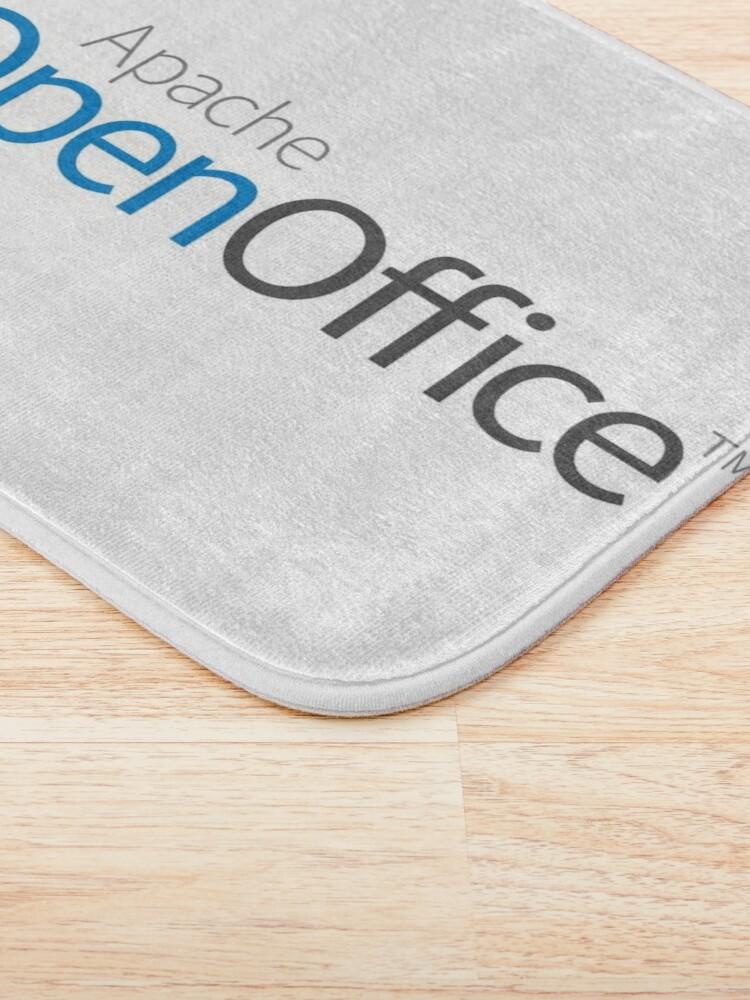 Alternate view of Apache OpenOffice Bath Mat