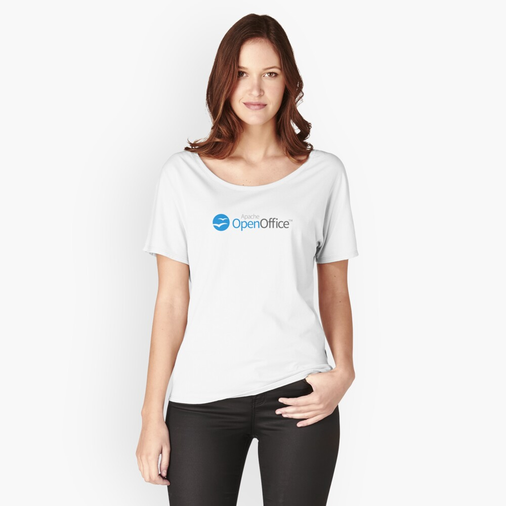 Apache OpenOffice Relaxed Fit T-Shirt