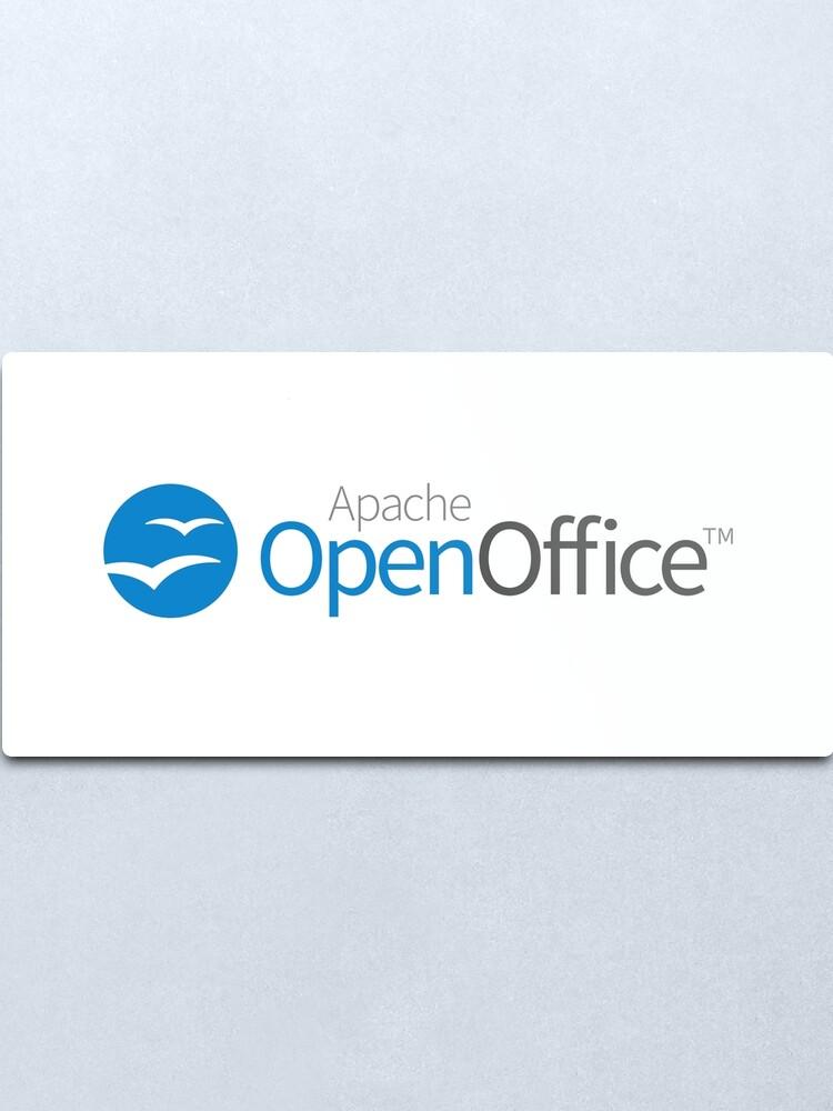 Alternate view of Apache OpenOffice Metal Print