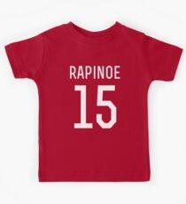 Megan Rapinoe # 15 Kinder T-Shirt