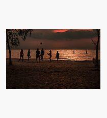 Fun At Beach Photographic Print