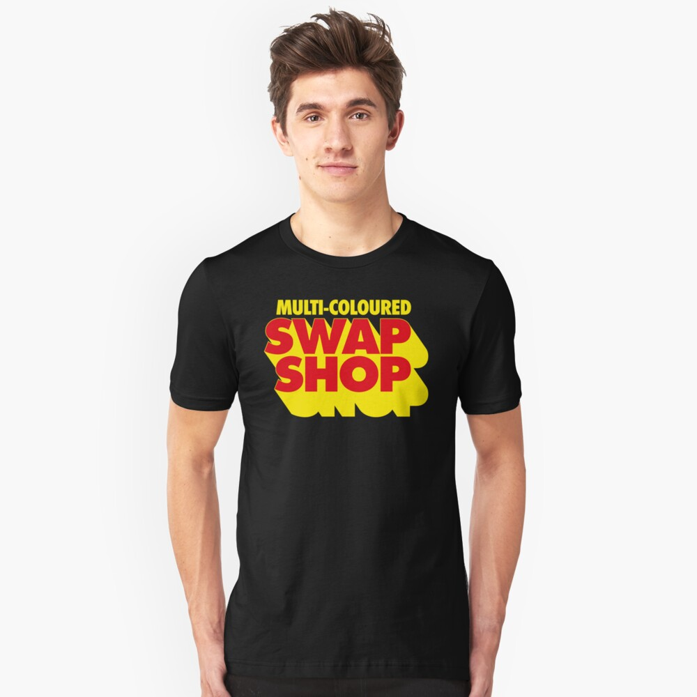 NDVH Multi-Coloured Swap Shop Slim Fit T-Shirt
