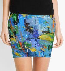 tropical dream Mini Skirt