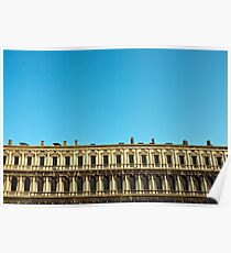 Procuratie Nuove Building, Piazza San Marco, Venice Poster