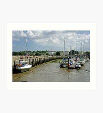 Eastern Side Harbour Arm, Ryde Art Print