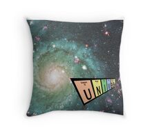 Elements of the universe design Throw Pillow