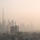 Dubai Skyline by John Nutley