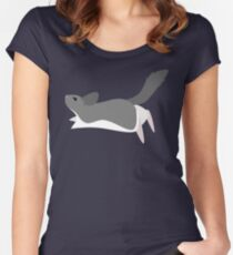 Chinchilla Fitted Scoop T-Shirt
