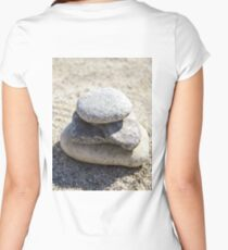 Stone Women's Fitted Scoop T-Shirt