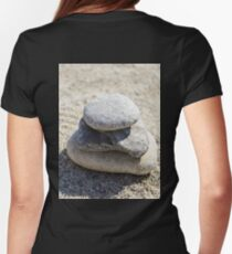 Stone Womens Fitted T-Shirt