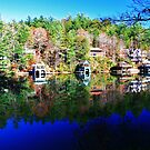 Lake Rabun Reflections by Chelei