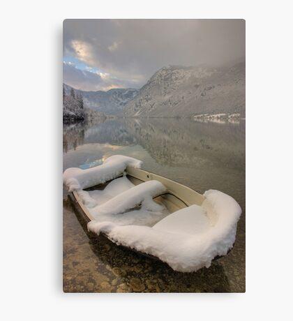 Lake Bohinj in Winter Canvas Print