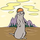 Otter with a Taco on Its Head by Otter-Grotto
