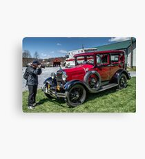 Margan and Model A Canvas Print