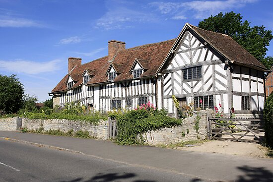 Mary Arden's House at Wilmcote Warwickshire by Chris L Smith