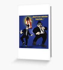 Blues Brothers Grußkarte