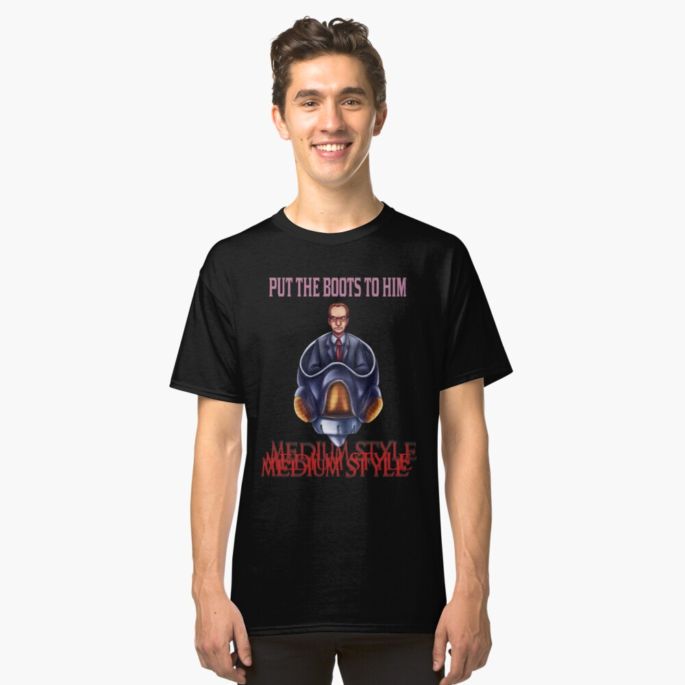 Lord Charles (text only) Classic T-Shirt Front