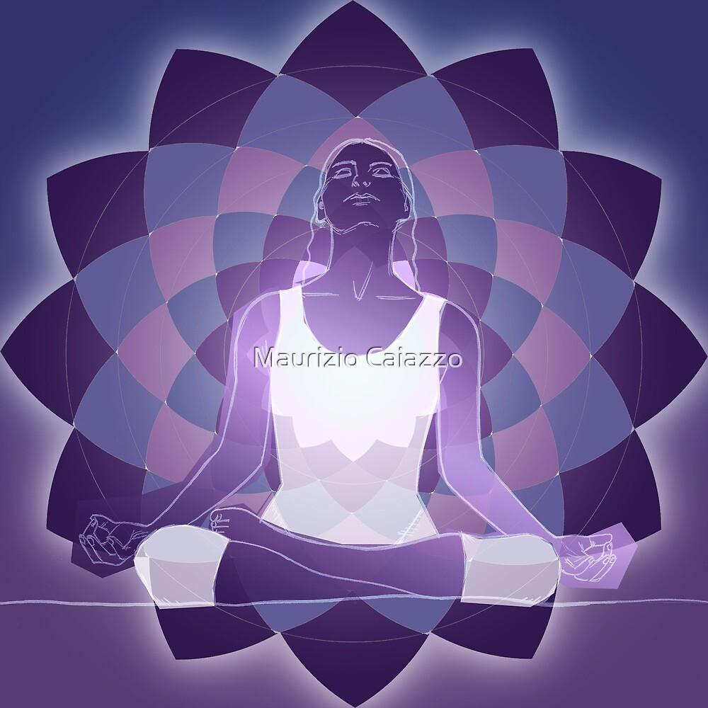 yoga mind by Maurizio Caiazzo