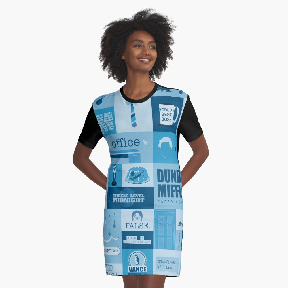 The Office Graphic T-Shirt Dress
